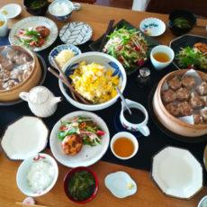夏目陽子先生の料理教室で熱々シュウマイレッスン