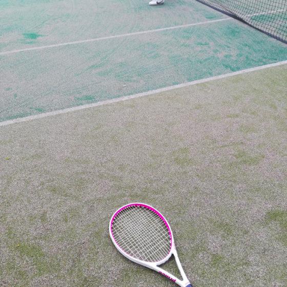 テニスはじめました。